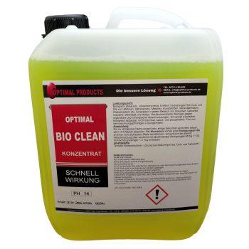 Optimal Bio Clean BioClean Allzweckreiniger privat label alkalischerreiniger alkalisch